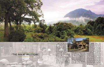 THE INN AT MILLSTONE - Views Magazine Website