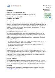 Einladung Workshop Lärmaktionsplanung Erfahrungsaustausch ...