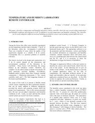 temperature and humidity laboratory remote controller