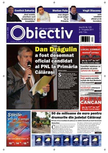 Dan Drăgulin - Obiectiv