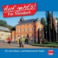 Kommunalwahl 2009 - Wahlbroschüre - SPD Troisdorf
