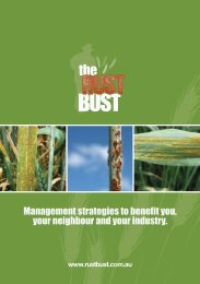 Management strategies to benefit you, your neighbour and your ...