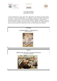 letture d'opera - Galleria d'Arte moderna di Milano
