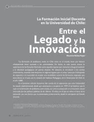 ENtRE EL LEGADO y LA INNOvACIÓN - Revista Docencia