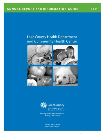 Annual Report of the Lake County Health Department 2011
