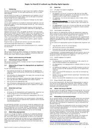 Regler for NemID - Danske Bank