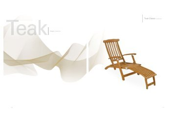 Teak Classic Collection