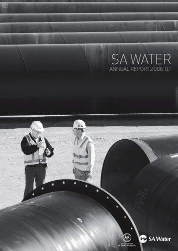 SA Water Annual Report, 2006-07