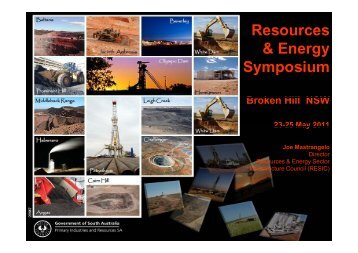 JM Res & Energy Symp Broken Hill May 2011 - MISA