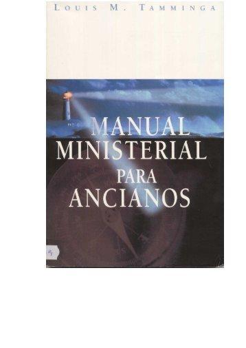 Manual Para Ancianos - Ptr. Arturo Quintero