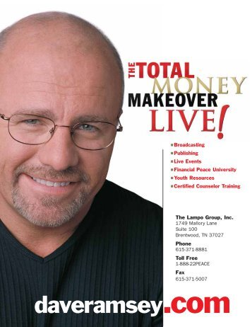 monthly cash flow plan cash flows i stops the dave ramsey show