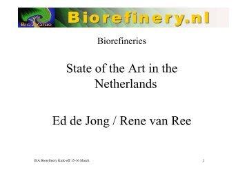 Country status Netherlands IEA42 150307.pdf - Biorefinery