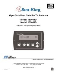 20339 Rev E, 1500-HD, 1800-HD, 04-26-10.qxp - King Controls