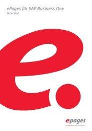 ePages für SAP Business One