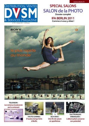 Octobre Numéro SPECIAL SALONS SALON DE LA PHOTO - DVSM