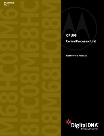 CPU08 Reference manual - Midnight Design Solutions