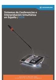 Sistemas de Conferencias e Interpretación Simultánea ... - Magnetron