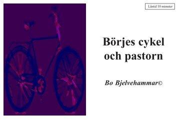 Börjes cykel och pastorn