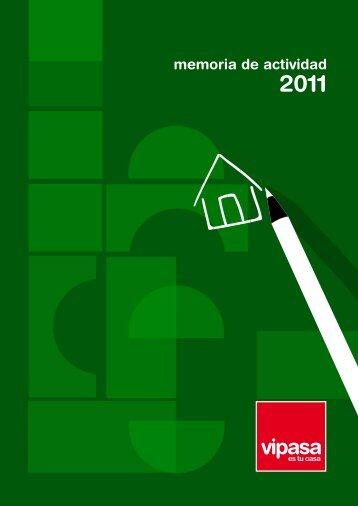 Memoria de actividad 2011 - Vipasa