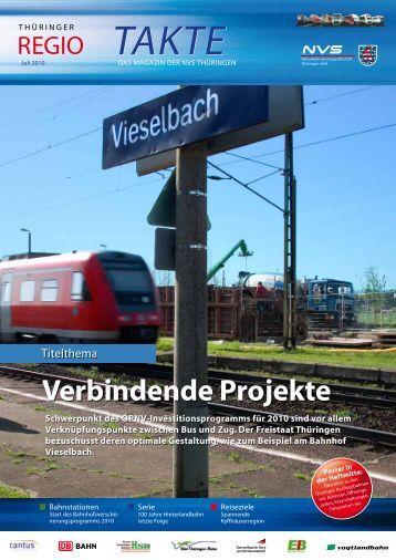 Verbindende Projekte - NVS Nahverkehrsservicegesellschaft ...