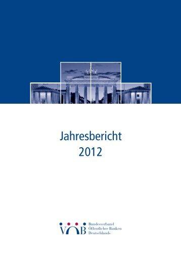 Jahresbericht 2012 - TransparenzOffensive   Immobilienwirtschaft