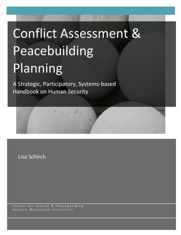 Conflict Assessment & Peacebuilding Planning (CAPP)
