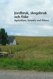 Jordbruk, skogsbruk och fiske (pdf) - Statistiska centralbyrån
