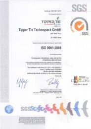 gs - Tipper Tie Inc.