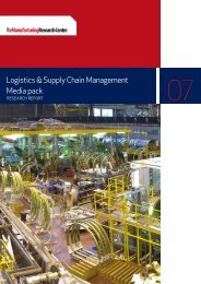 Logistics & Supply Chain Management Media pack - The ...