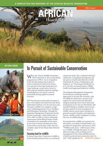 Download (English) - African Wildlife Foundation