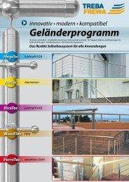 Geländerprogramm - Treba Bausysteme GmbH