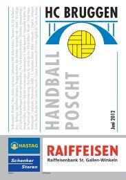 Handball Poscht: Juni 2012 - HC Bruggen