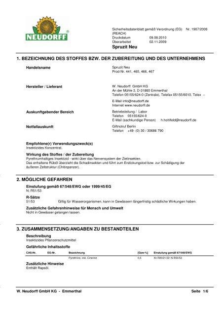 Spruzit Neu - Das Neudorff Profi-Portal