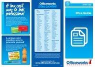PRICE GUIDE v3.indd - Officeworks