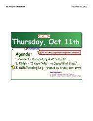Agenda 10-11-12 - Reeths-Puffer Schools