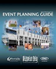 Event Planning Guide - Atlantic City