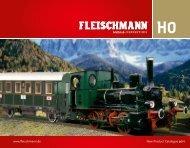 Steam locomotive - Fleischmann