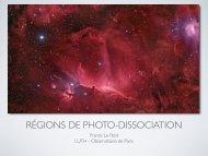 Régions de photodissociations