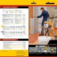 ProjectPro 119 Extra Airless op wagen brochure - Wagner