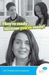 develop Students' writing Skills - SAT - College Board