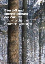 Jahresbericht Wald und Holz NRW