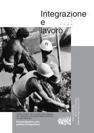 Documentazione sulla politica d'integrazione 2003 ... - BASS