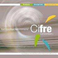Plaquette CIFRE - ANRT