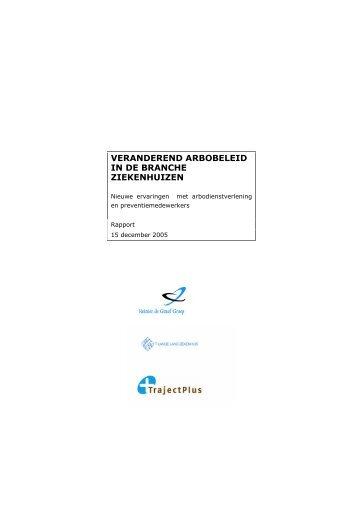 download het rapport - TrajectPlus