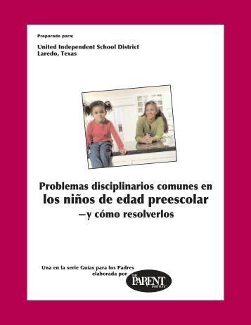 Problemas disciplinarios comunes en los ninos de edad preescolar