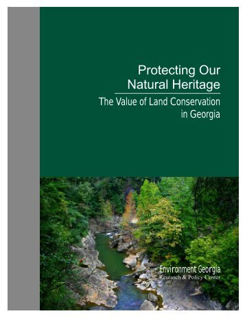 Download GA-Protecting-Our-Natural-Heritage-text - Frontier Group