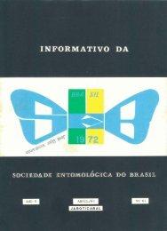 1 - Sociedade Entomológica do Brasil