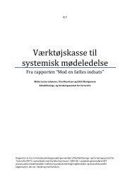Værktøjskasse til systemisk mødeledelse - Hjem