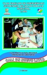 Plan Familiar de Emergencias - CaliSaludable.gov.co