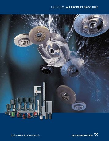 GRUNDFOS All product brochure - Dosanova